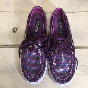 Sperry Shoes - KIDS Sequin Sperry